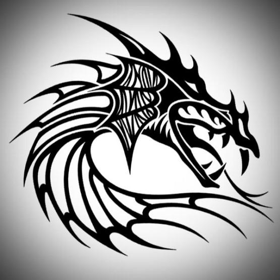Dragon tattoo tribal designs full tattoo