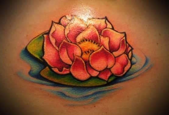 lotus flower tattoo beautiful