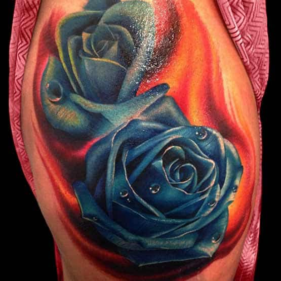 Rose Tattoo Designs And Meanings Full