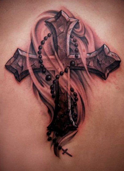 amazing cross tattoo designs