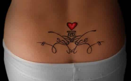 cute back tatoo designs
