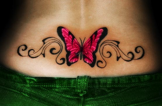 Cute Lower Back Tattoos For Girls | Full Tattoo