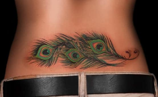 pretty lower back tattoo designs