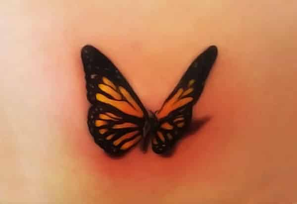 Small butterfly tattoo designs