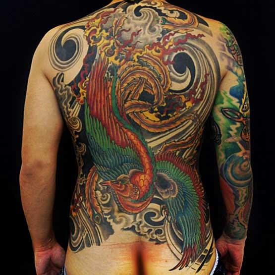 Full Back Tattoo Designs For Men