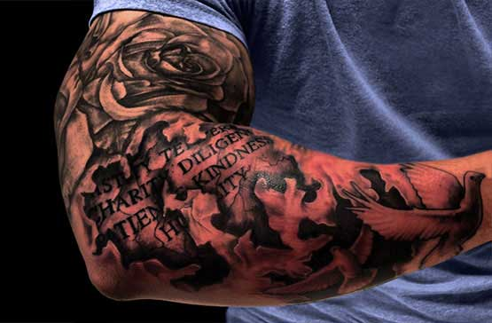 Dark Full Sleeve Tattoos Full Sleeve Tattoo Designs For