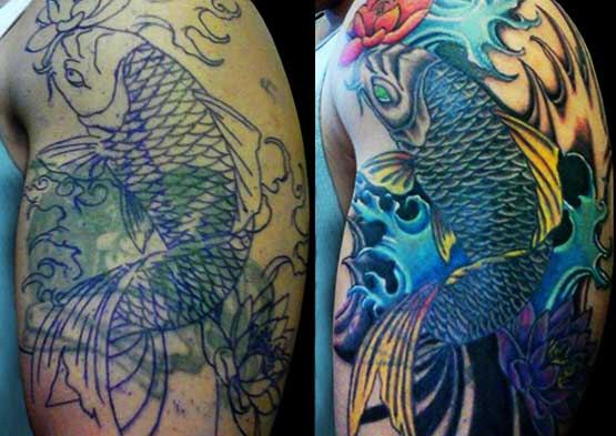 Tattoo Cover Up Ideas And Designs