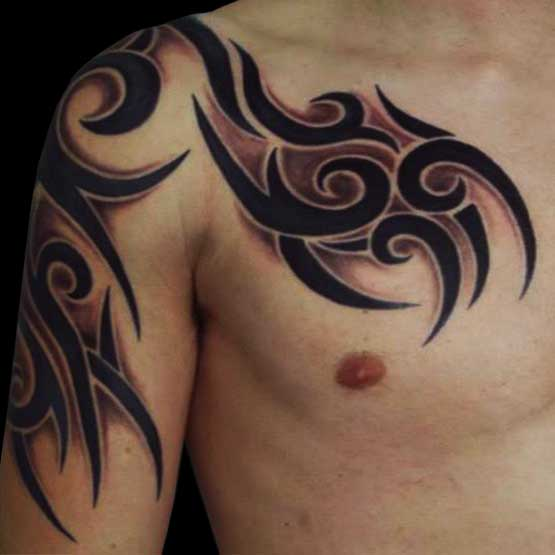 mens tribal tattoos ideas