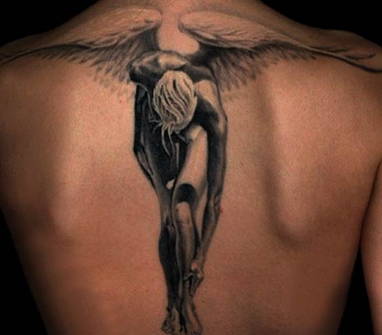 Angel Wing Tattoo Designs Back