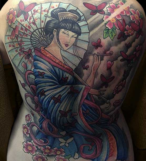 Geisha Tattoo Designs And Their History