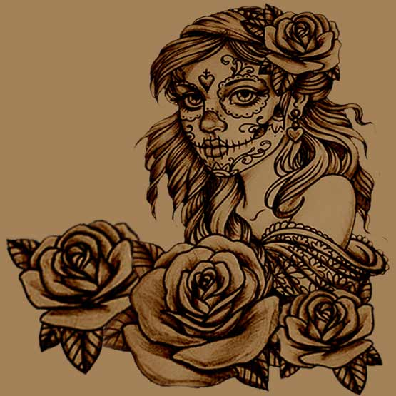 How To Create Your Own Sugar Skull Tattoo  Full