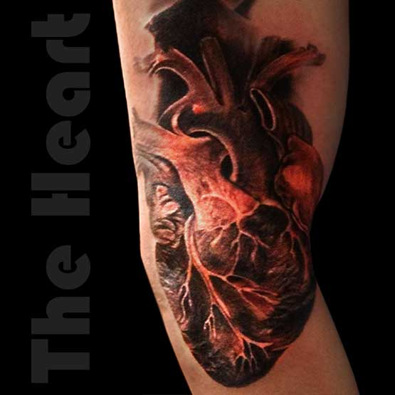Heart Tattoo Designs Is The Best Skin Art