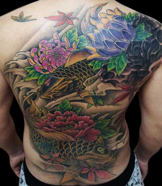 Most Japanese Tattoo Designs On Full Back