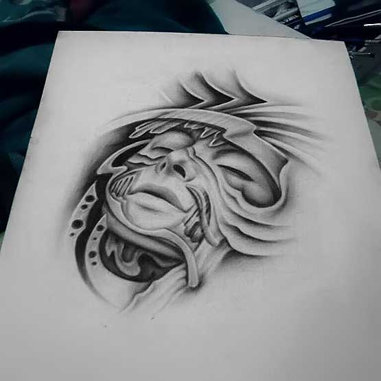 How To Make A Tattoo Design By Arief Tretes