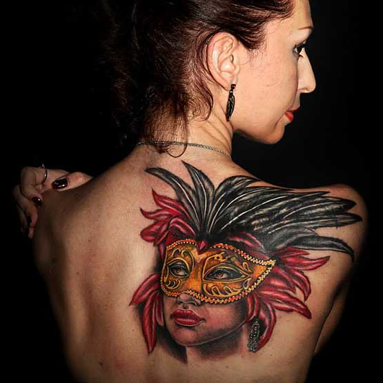 Woman With The Best Tattoo Designs