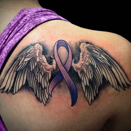 Cancer Ribbon Tattoo Designs Recommended