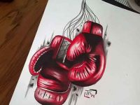 designs Boxing Glove Tattoos