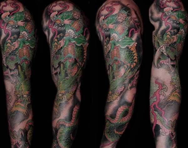 Full Sleeve Tattoos Ideas