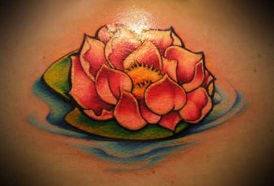 lotus flower tattoo beautiful