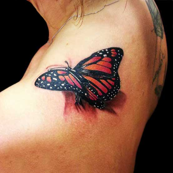Butterfly Tattoos With Beautiful Meaning