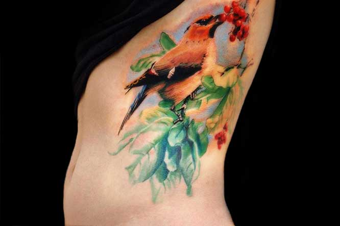 cool bird tattoo ideas