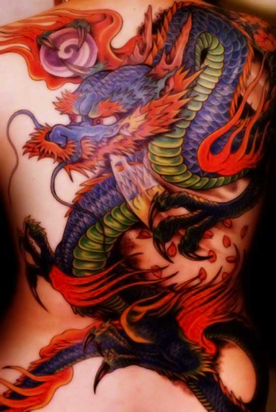dragon cool tattoo ideas