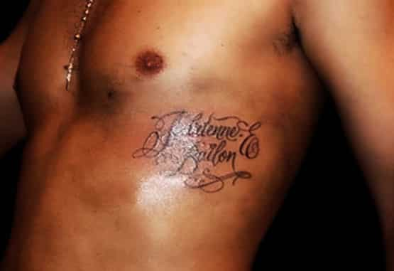 Rob Kardashian Tattoo