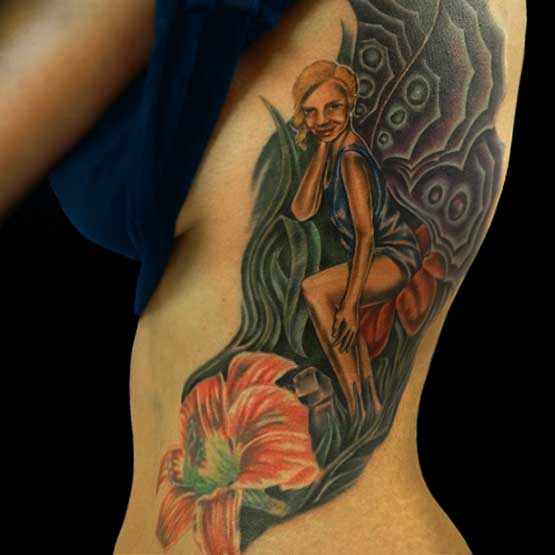 Fairy Tattoos Back Piece