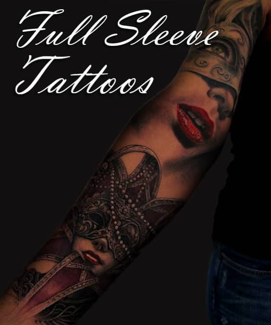 Great Full Sleeve Tattoos For Women