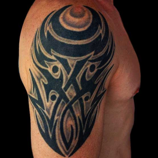 Tribal Arm Tattoos For Guys