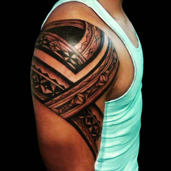 Best tribal tattoos for men full tattoo for Tribal tattoos for men forearm