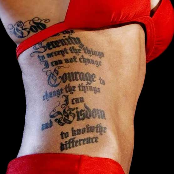 Miss America Tattoo
