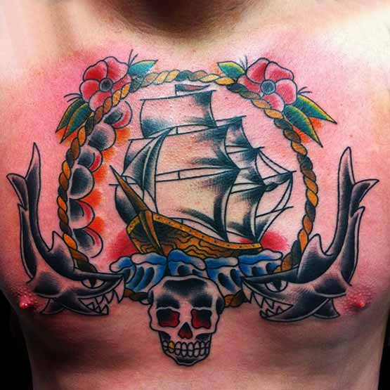 Chest Tattoo Designs For Men And Women Full Tattoo