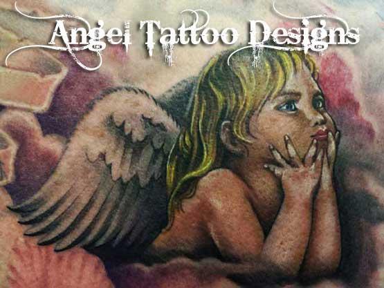 Cute Cherub Tattoo Designs