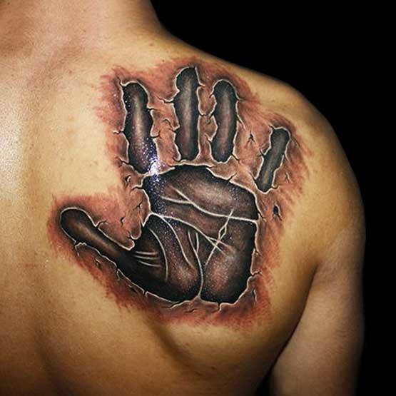 Men's Upper Back Tattoo Designs