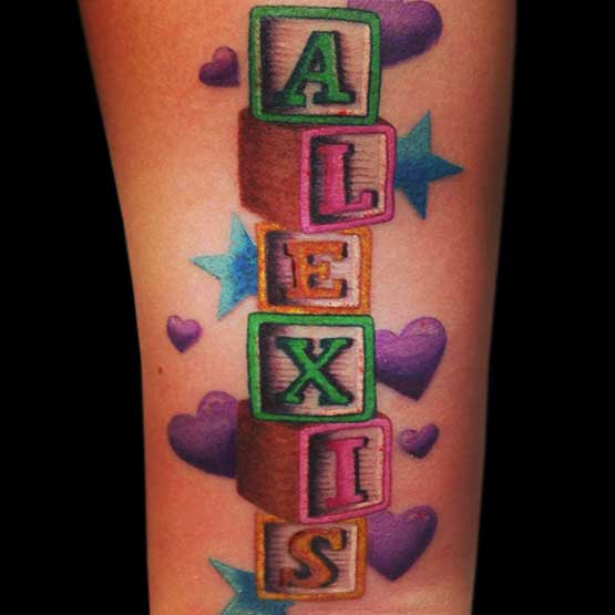 Name Tattoos Is All About Eternally