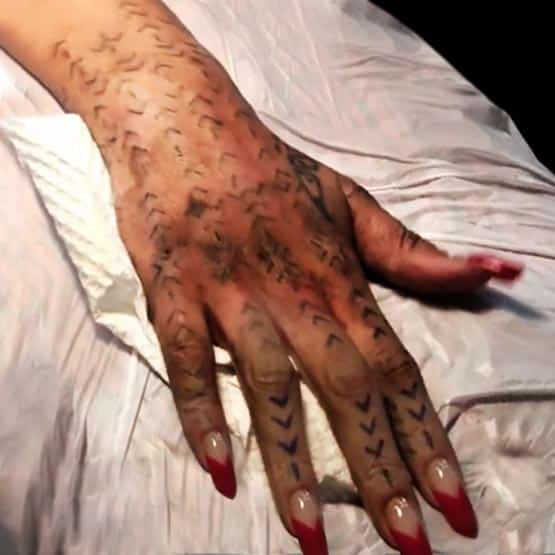 Rihanna's New Tattoo As Her Spirit Reason