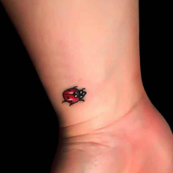 Small Tattoo Beetle Designs