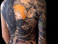 Great Full Body Tattoo Female Pictures