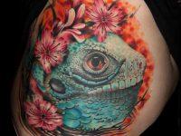 Best Iguana Tattoo Ever