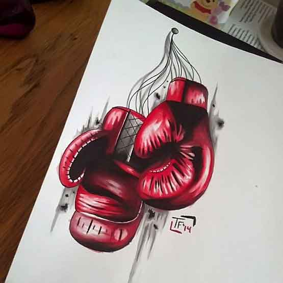 Boxing Glove Tattoos Ideas and Tips to Choose It