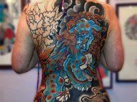 Japanese Girl Full Body Tattoos