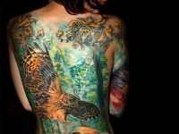 The Girl With Full Body Tattoos