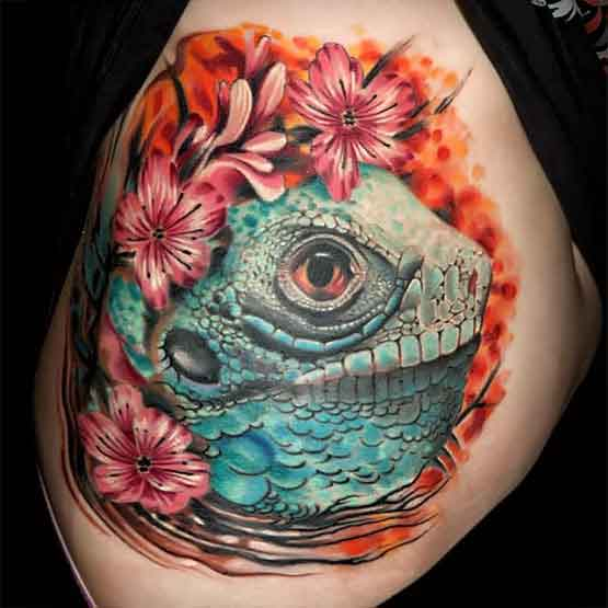 Awesome colorful tattoos desing for ladies full tattoo for Jobs that don t allow tattoos