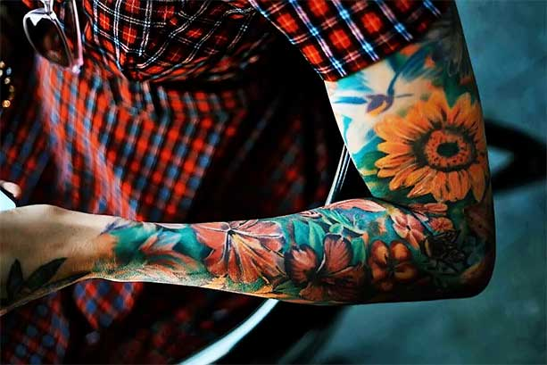Full Sleeve Tattoo Cost