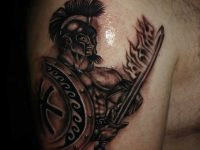 Mens Tattoo Designs Gladiator
