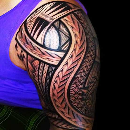 Maori tribal tattoo designs