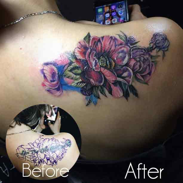 Cover Up Tattoo Artist