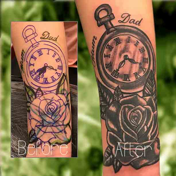 Cover Up Tattoo Ideas Wrist