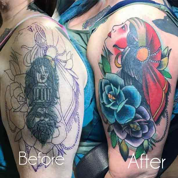 Cover Up Tattoos Pictures